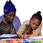 Domácí výuka v Africe